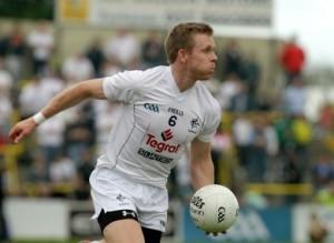 Kildare man-of-the-match Morgan O'Flaherty